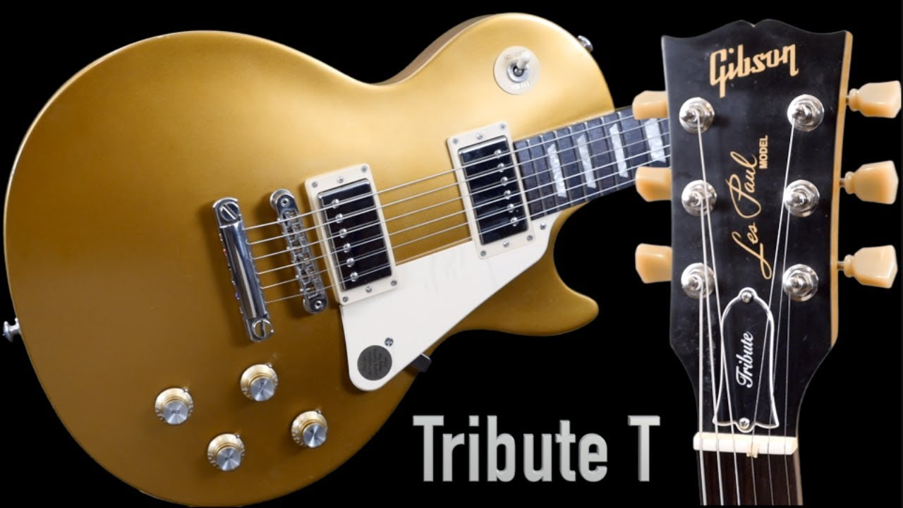 thicker fretboard thicker tone 2017 gibson les paul tribute t satin gold top studio review. Black Bedroom Furniture Sets. Home Design Ideas