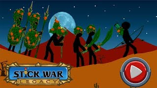 Stick War Legacy Endless Leaf Skin: Hack 2018 - Android GamePlay HD