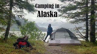 Traveling to and TËNT CAMPING in Alaska (My 42nd State)