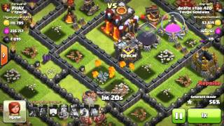 CLASH OF CLANS THE LAVA PUP THAY COULD (WITH HELP)