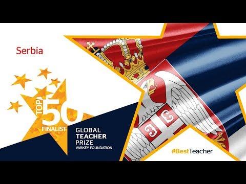 Global Teacher Prize 2018-Top 50 Finalist-Serbia's Public Figures Express Support-Part 1