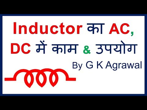 Inductor in Hindi - how inductors work, concept & uses