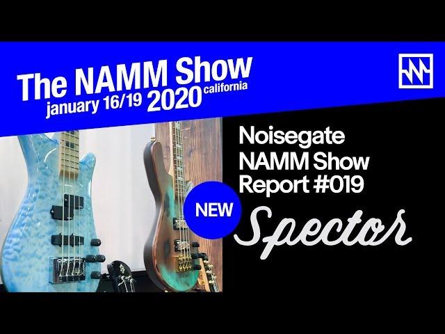 NAMM 2020: Spector Bass 2020 Range Overview