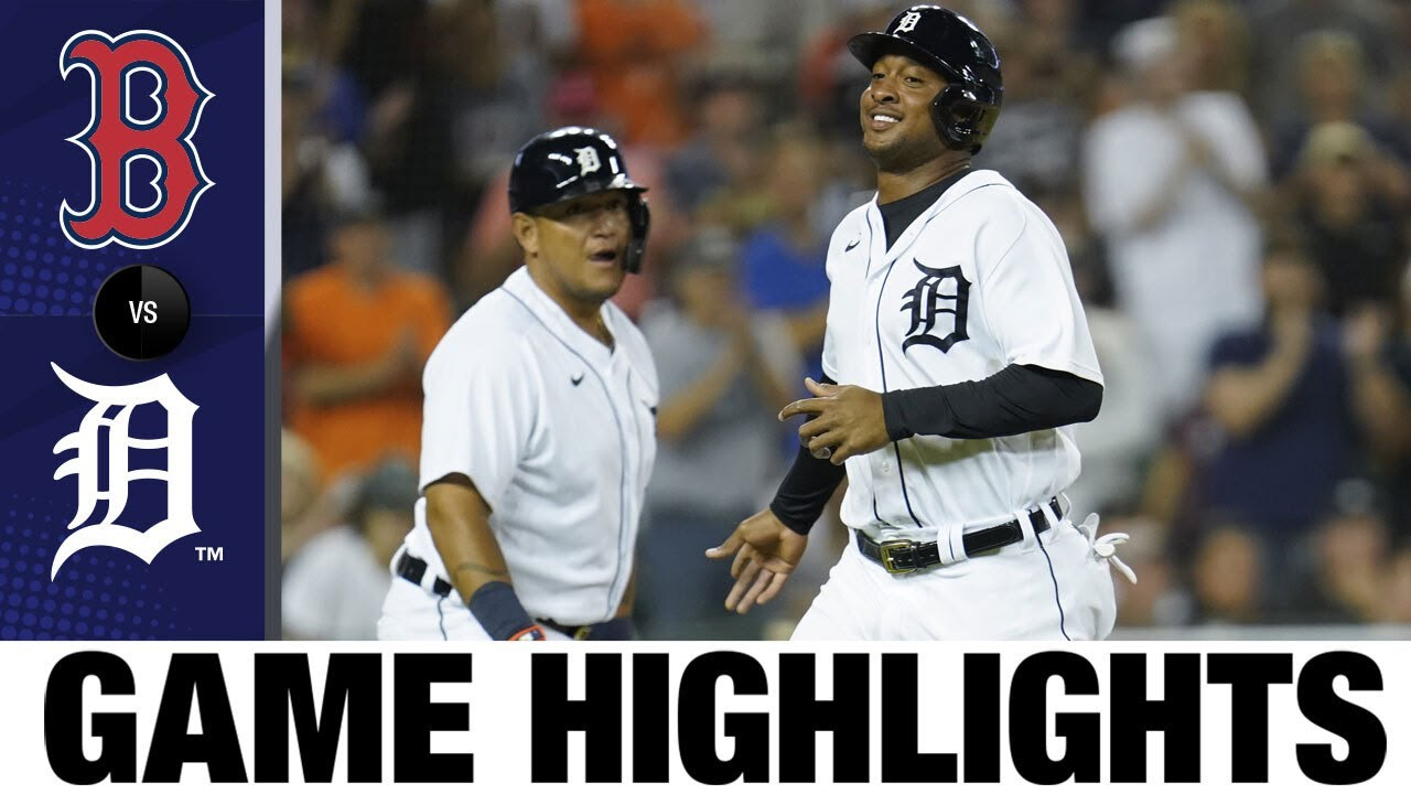 Download Red Sox vs. Tigers Game Highlights (8/3/21)   MLB Highlights