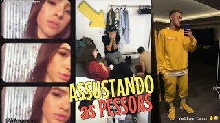 Bruna Marquezine ASSUSTANDO as pessoas   Neymar de pintinho Amarelinho ❤