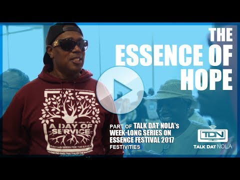 The ESSENCE of Hope - Master P., Robert Pack, and Team Hope Nola feature