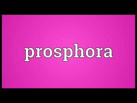 Header of prosphora