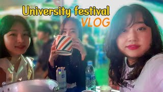 사촌 자매끼리 간 숭실대학교 축제 브이로그 VLOG  …