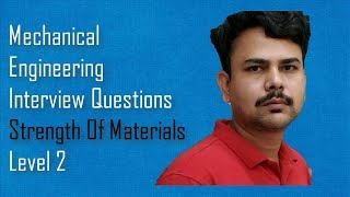 Strength Of Materials - Mechanical engineering interview questions,dimu's tutorials