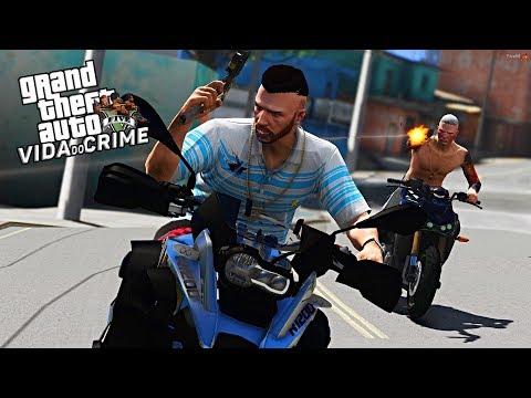 GTA V : VIDA DO CRIME | ENCONTREI UM DOS CAPANGAS DO BONDE DO RD VAI MORRER!! | EP#36