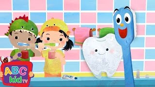 Brush Your Teeth | Nursery Rhymes & Kids Songs - ABCkidTV