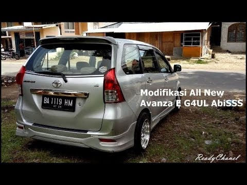 Modifikasi All New Avanza E Untuk Harian GAUL AbiSS