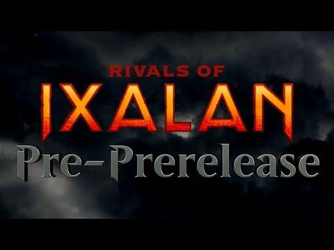 Rivals of Ixalan Pre-Prerelease