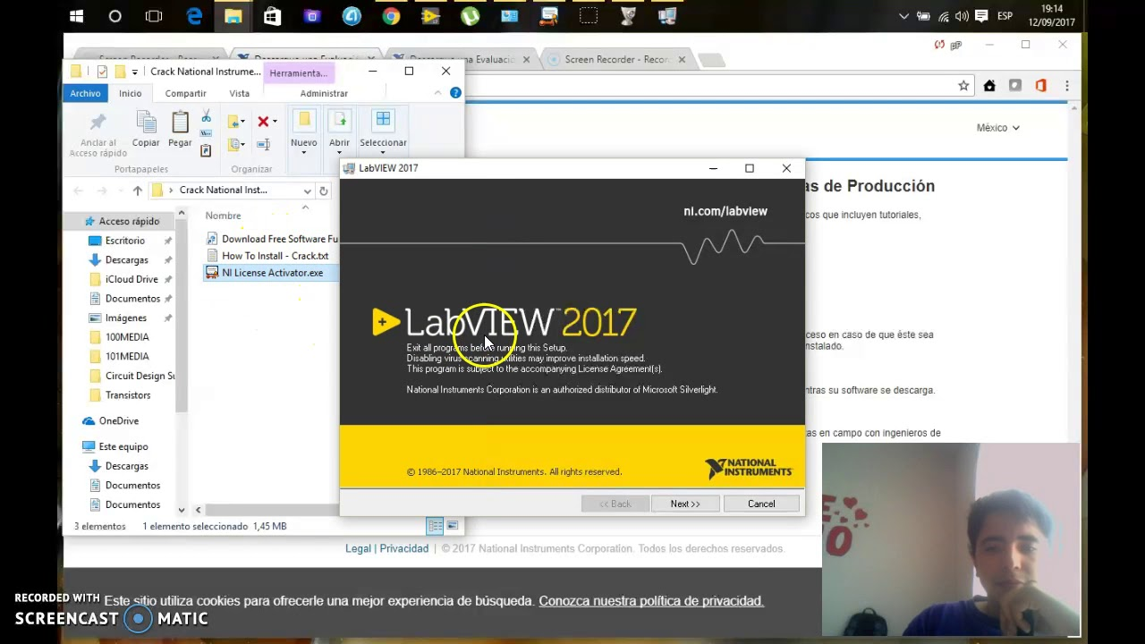 How to install LabVIEW 17-18-19 64bit/32bit windows 10/8/7 - Full Crack