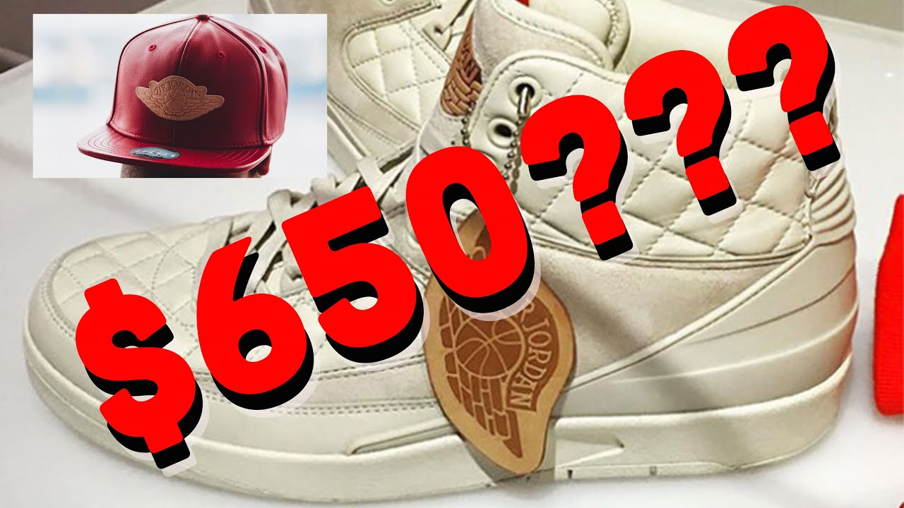 9c158eb3ae0 Jordan 2 x Just Don s Are  650  WTF! - YouTube