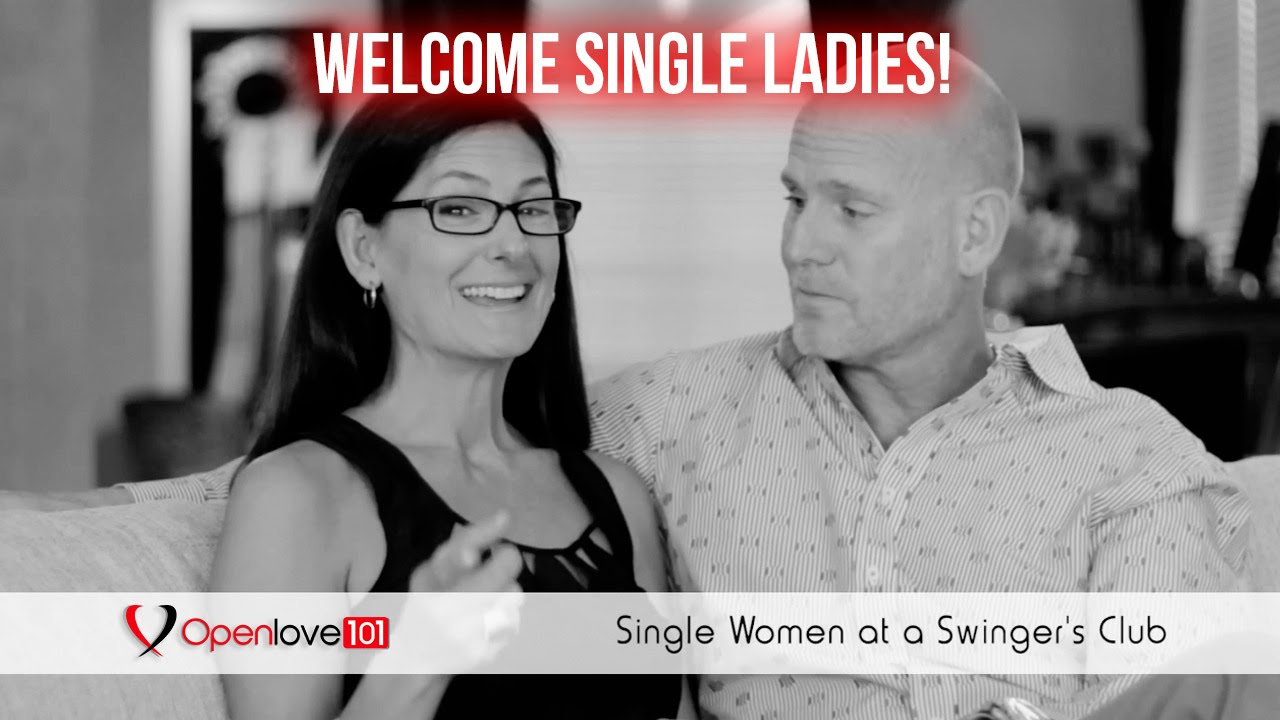 Single female swinger