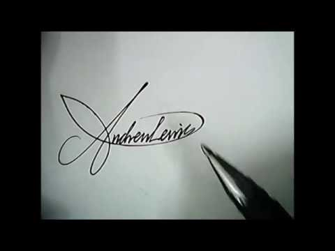 Ayesha Name 3d Wallpaper Free Download How To Create A Custom Amazing Signature Youtube