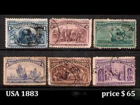 Цены на марки, интерестные почтовые марки