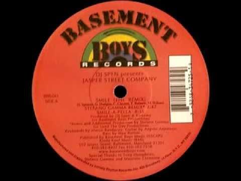 Jasper Street Company - Smile (Stefano Gamma Vocal Remix) [Basement Boys Rec - 2000]
