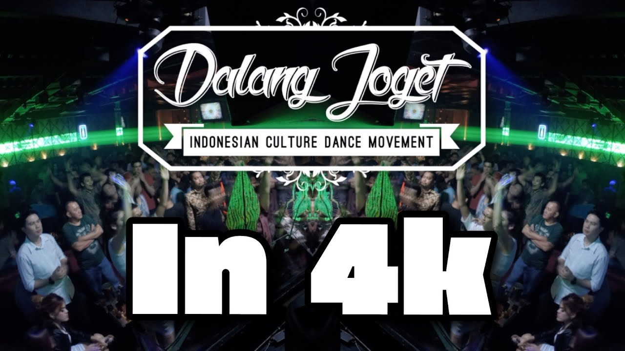 Dalang Joget  Indonesian Culture Dance Movement in 4K [Timelapse]  YouTube