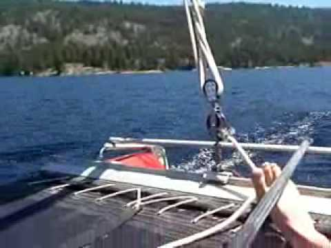 1977 surfglass inc Prindle 16 sailboat for sale in Michigan