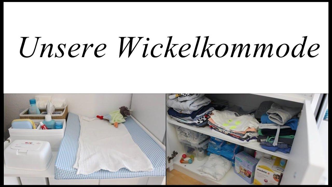 Wickelkommode Einrichten unsere wickelkommode und erstausstattung | babyartikel.de - youtube