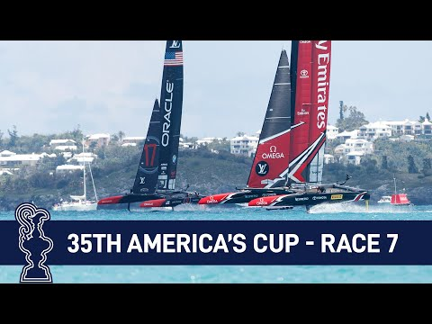 35th America's Cup Race 7 NZL vs. USA | AMERICA'S CUP