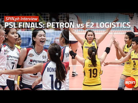 SPIN.ph Interview: PSL Finals, Petron vs F2 Logistics