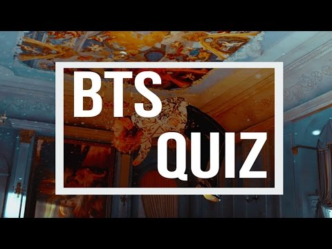 Are you a true ARMY? || BTS QUIZ
