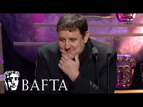 Peter Kay's Silent Acceptance Speech   BAFTA TV Awards 2016