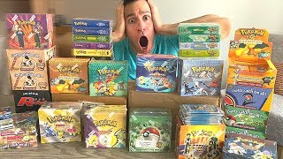 I Bought The *ENTIRE* Pokemon Cards Collection of a WIZARDS OF THE COAST Employee!