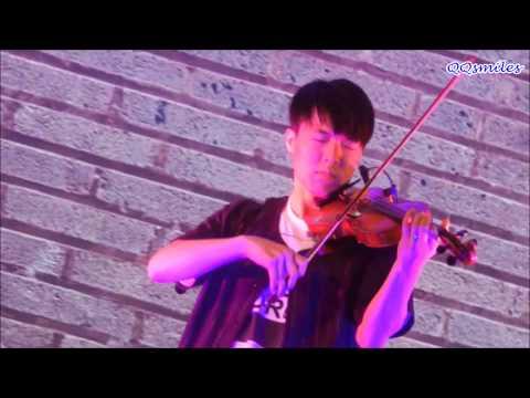 [HD Fancam] 150711 JunCurryAhn - Loser Violin Cover (Big Bang) [SHINE Festival 2015]