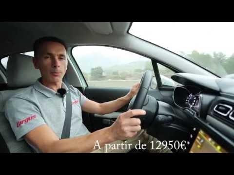 Essai nouvelle Citroën C3 III PureTech 110 EAT6 - L'argus - 2016