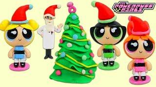 POWERPUFF GIRLS Celebrate Christmas with Surprise Toys!