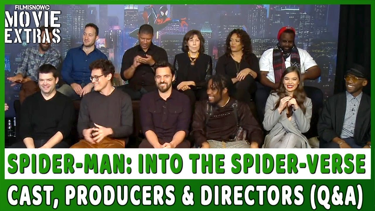 SPIDER-MAN: INTO THE SPIDER-VERSE | Cast & Crew Q&A
