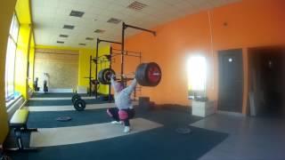 "#Тяжелаяатлетика "" КМС в зале, рывок 120 кг"" Weightlifting"