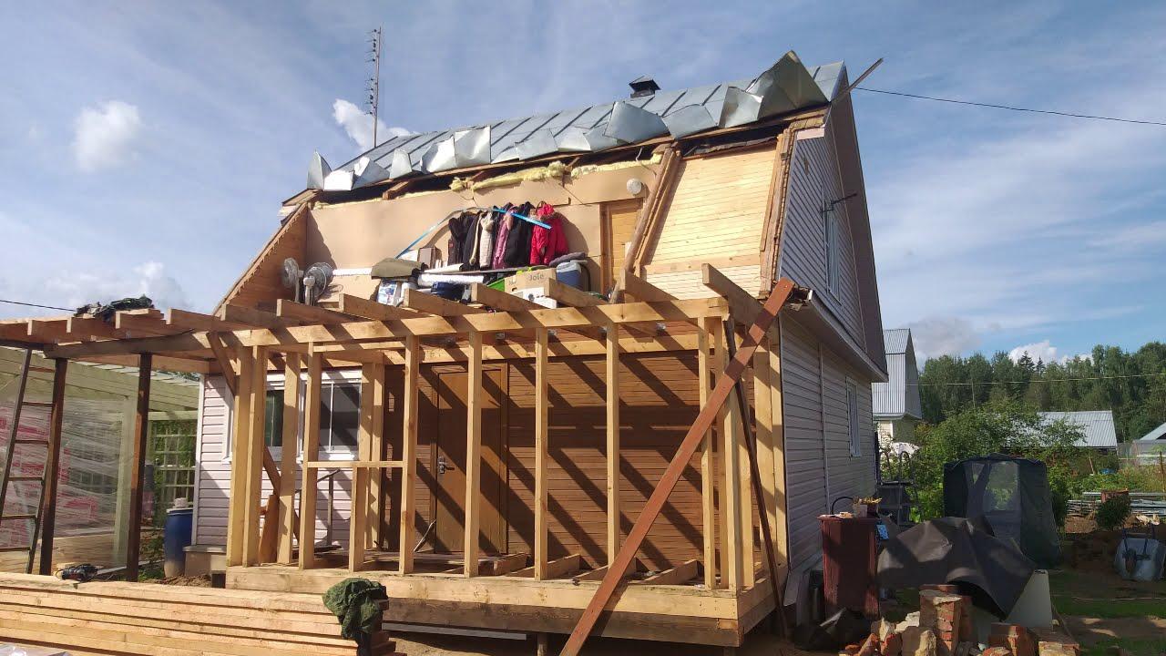 Обновляем еще одну крышу!