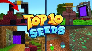 TOP 10 BEST NEW SEEDS For Minecraft 1.16 Nether Update! (Pocket Edition, Xbox, PS4, Switch & W10)