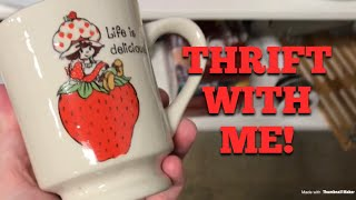 Come Thrift Shopping With Me! Hunting for Vintage Collectibles & Halloween Decor!