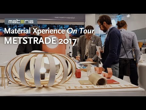 Materia presents: 'Floating Future' exhibition at Metstrade 2017, RAI Amsterdam
