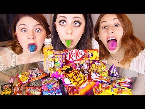 Trying WEIRD JAPANESE CANDY Challenge!