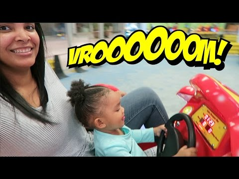 Family FUN At FUNVILLE Playground & Cafe-The Minor Life Family Vlogs