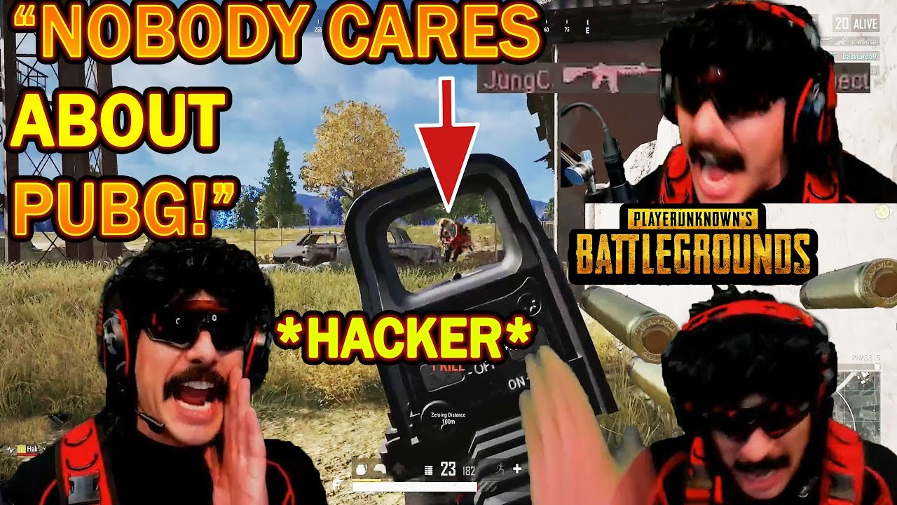 DrDisrespect RAGES at PUBG HACKER & Shows Why NOBODY's interested in PUBG Anymore!
