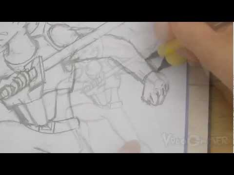 How To Sketch Your Own Character