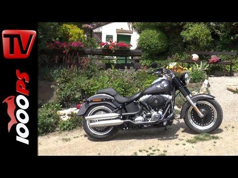 Harley-Davidson Fat Boy - Teaser für Dauertest