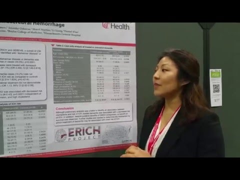 ISC 2016 - Researcher Discusses Risks Related to Alzheimer's Treatment and Stroke