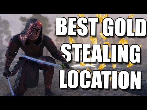 BEST Gold Robbing Location in ESO *2018* (Elder Scrolls Online Guide for PC, Xbox, and PS4)