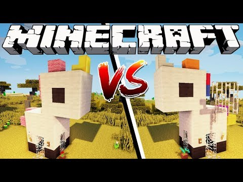 UNICORN HOUSE VS PEGASUS HOUSE - Minecraft