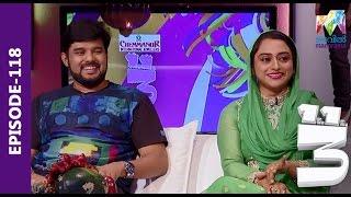 Onnum Onnum Moonu I Ep 118 with Kalabhavan Navas & Rahna I Mazhavil Manorama