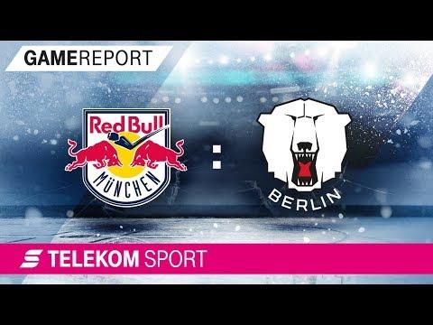 EHC Red Bull München - Eisbären Berlin | Finale Spiel 5, 17/18 | Telekom Sport